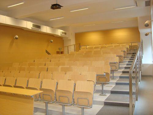 Przebudowa sali audytoryjnej AGH - pawilin A-2